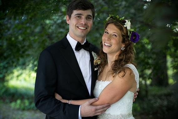 Dennis Drenner Photographs - baltimore museum wedding - smiling bride and groom