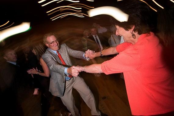 Dennis Drenner Photographs - evergreen house wedding - dancing