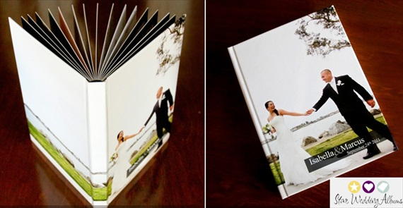 how to turn wedding photos into photo albums (via Emmaline Bride)