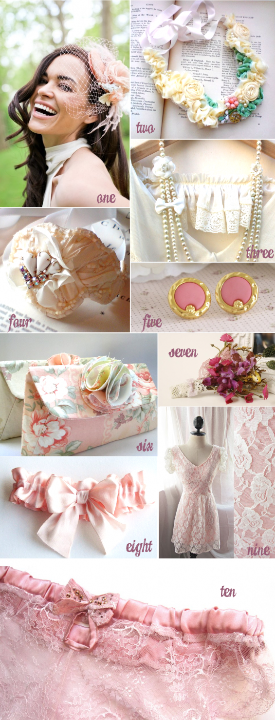 handmade wedding bride accessories