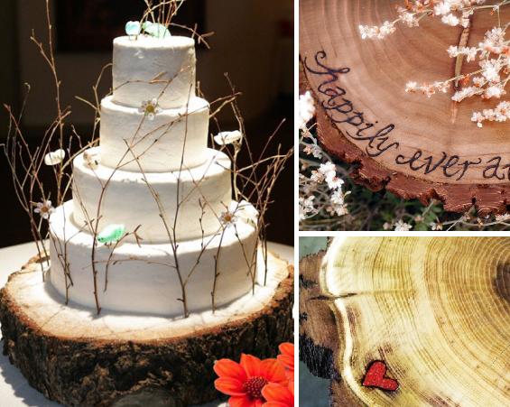 handmade cake stand