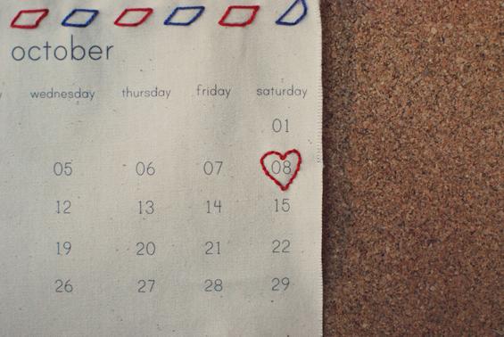 handmade save the date