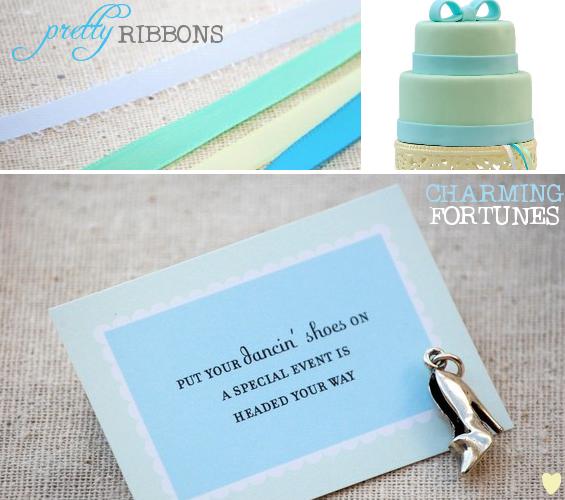 bridesmaid cake charms