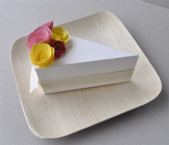 Cake Favor Boxes by Imeon Design