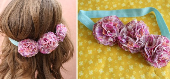 floral halo headbands