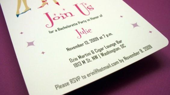 bachelorette party invites printable