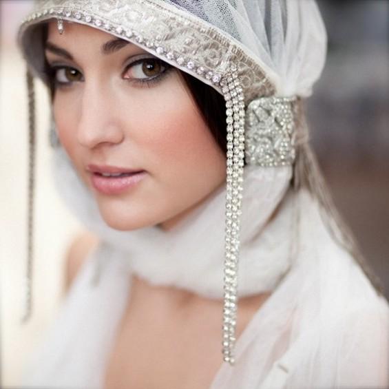 bridal veil alternative headdress