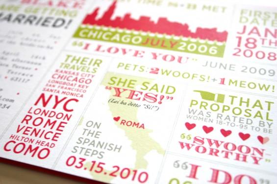 typography invitations