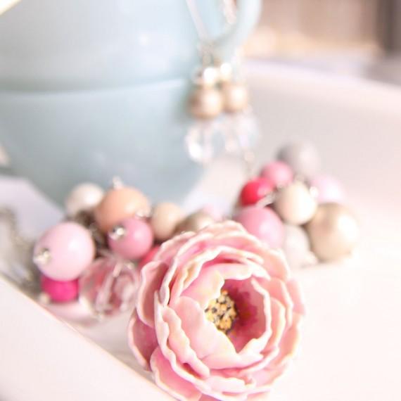 paper flower rings - 3