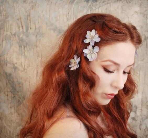 periwinkle hair pins