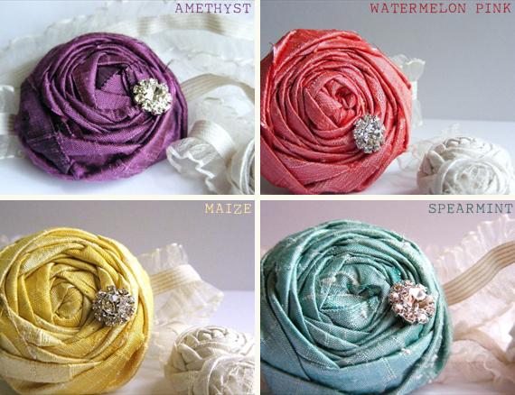 bridal garter color choices