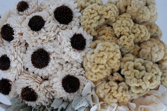 floral texture centerpieces