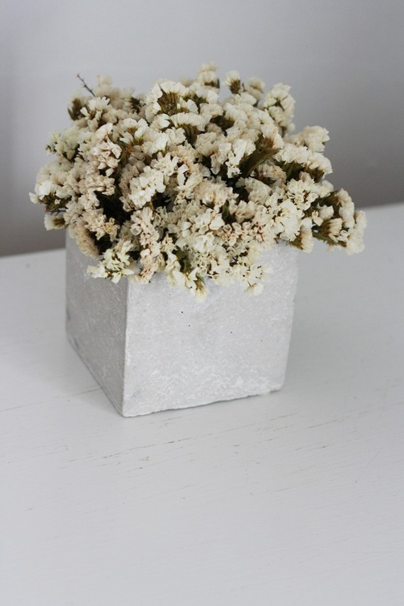 dried floral texture centerpiece