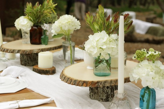 wooden cake plates - 6