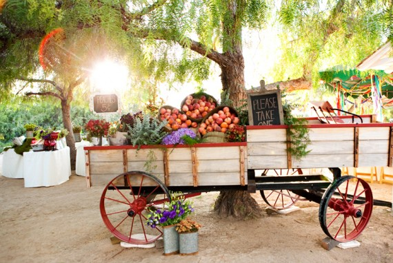 rustic wedding favors - peaches 2