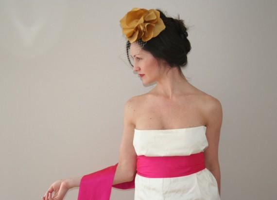 hot pink sash