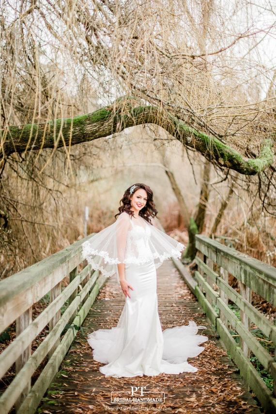 bridal bolero