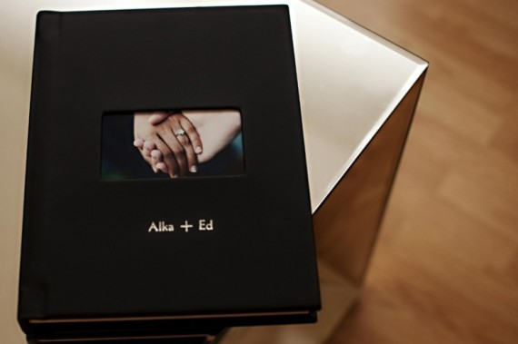 handmade wedding albums