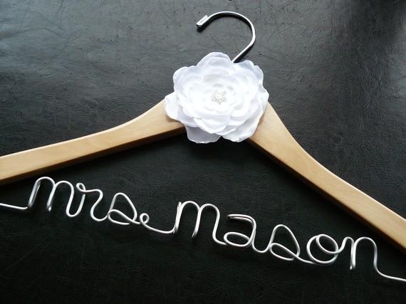 custom bridal hangers