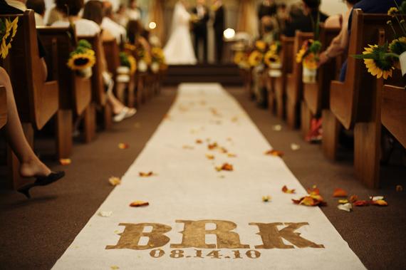 rustic real wedding