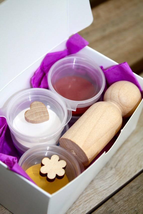diy wooden cake topper kit