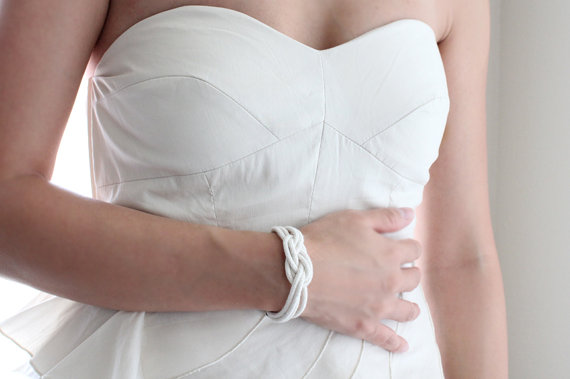 knot wedding bracelet