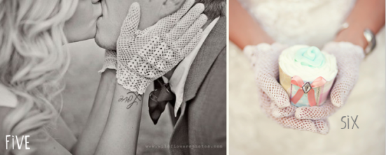 bridal gloves