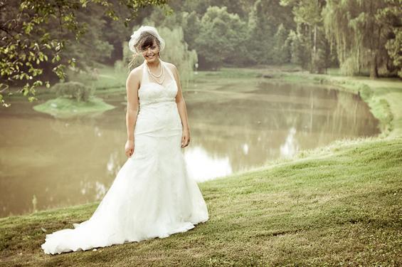 west virginia backyard wedding
