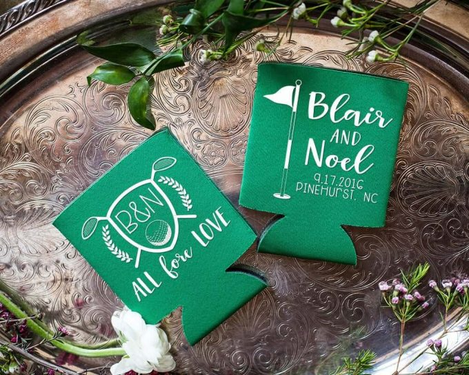 golf wedding favors