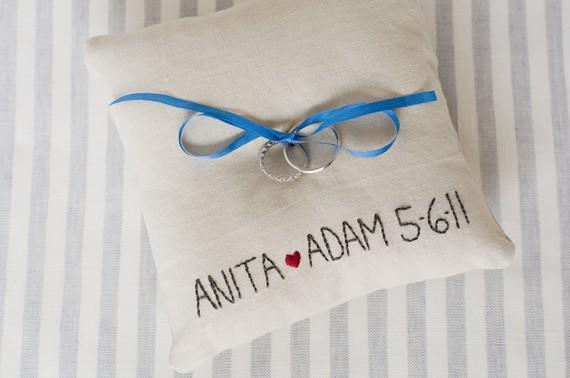 handmade ring pillows - heybabestudio