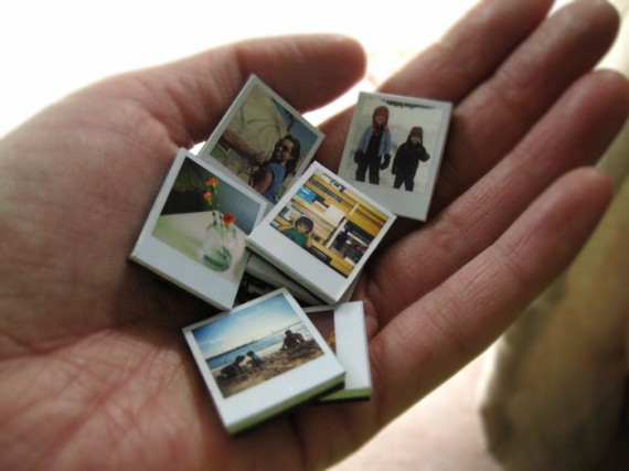 polaroid wedding ideas - polaroid magnet favors