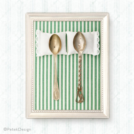 spooning wedding poster