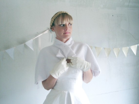 bridal capelet gieaway