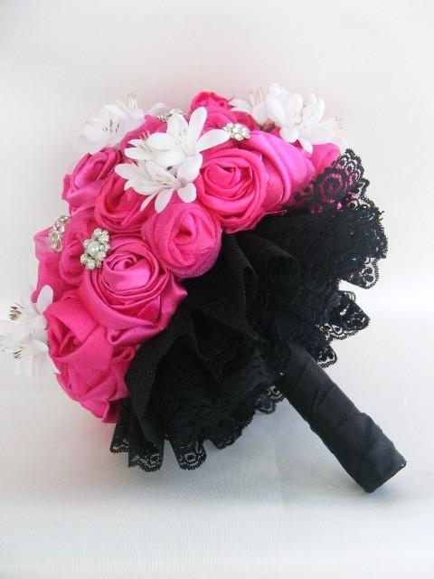 hot pink bouquet