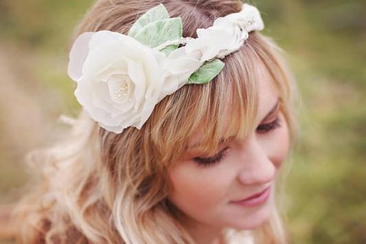 headband - handmade wedding