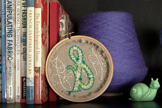 custom embroidery hoop