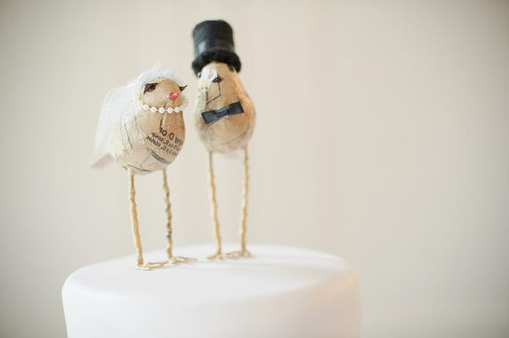 handmade love birds