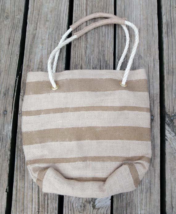 burlap tote bag bridesmaids