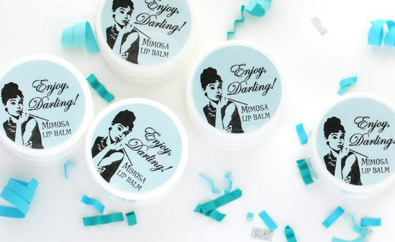 breakfast at tiffanys bridal shower favors