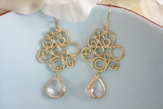 bridesmaid earrings gift