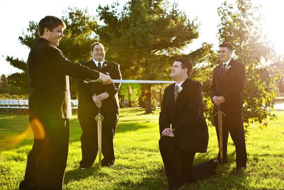 Woodland Winery Wedding