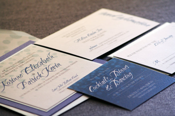 custom wedding invite