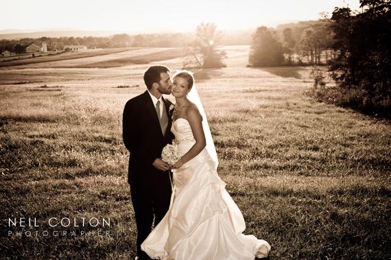 battlefield wedding