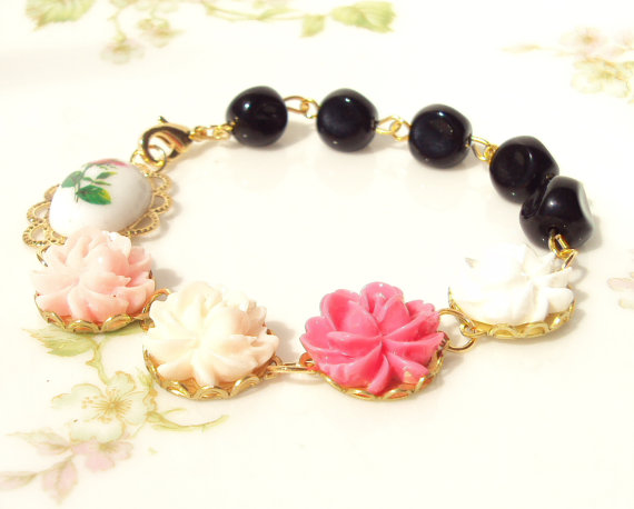 floral inspired jewelry