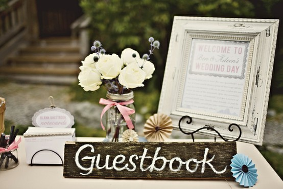 guest book signs