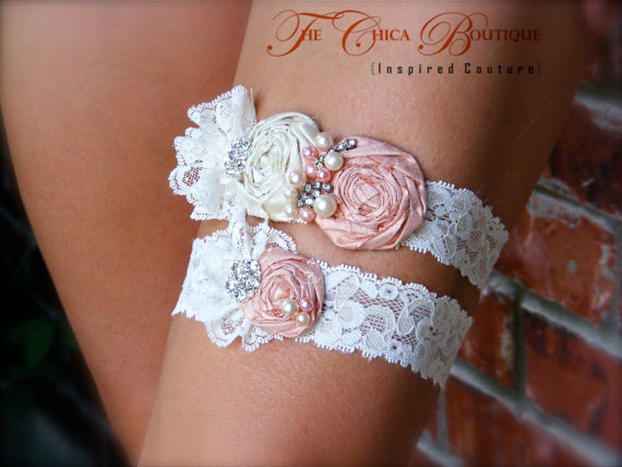 heirloom bridal garter