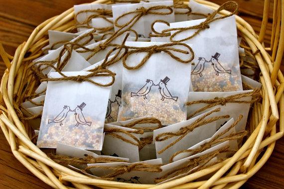 bird seed bags