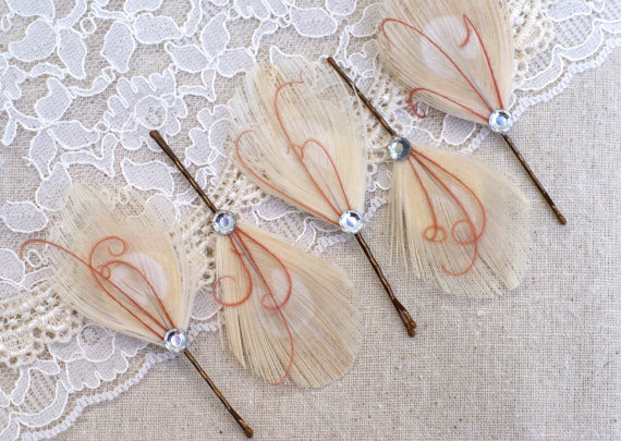 bridesmaid hair pins