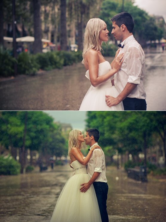 rain on your wedding day