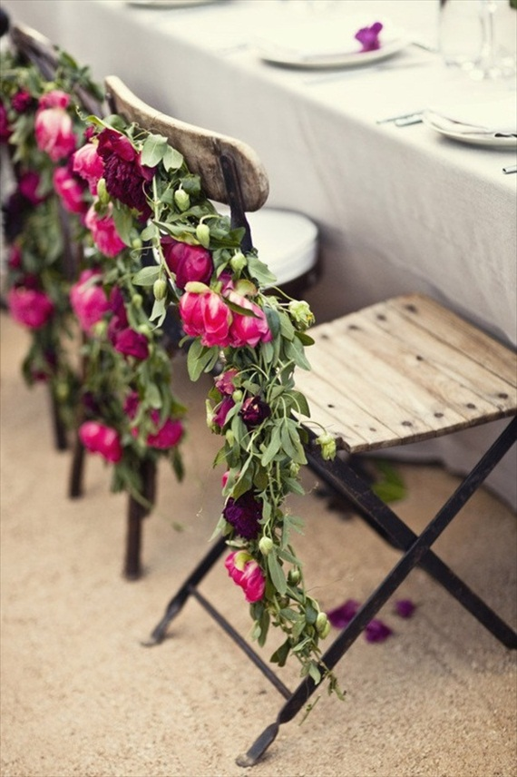 rose chairbacks